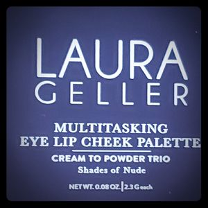 Laura Gellar eye lip and cheek palette and Opulent